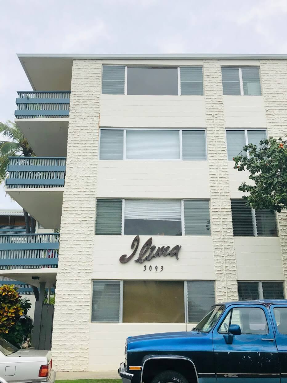 Ilima Apartmentsの外観