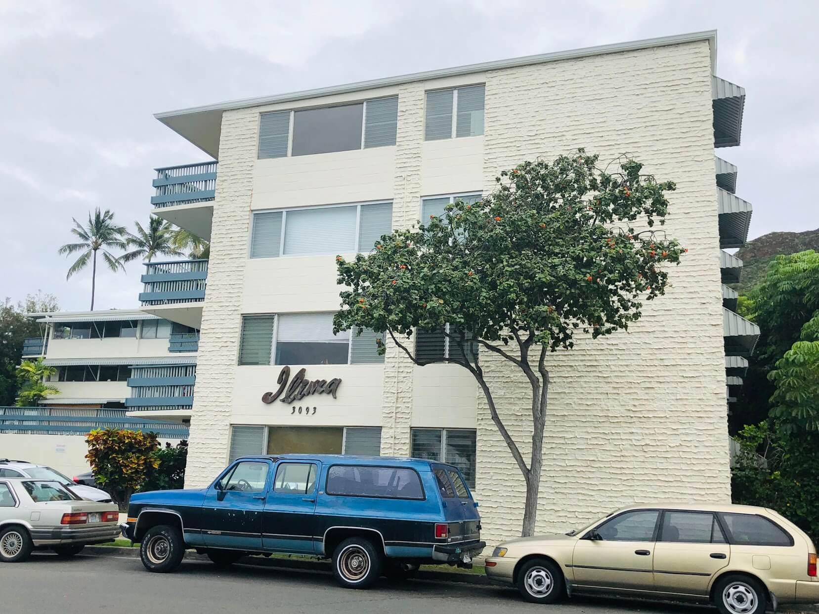 Ilima Apartmentsの外観