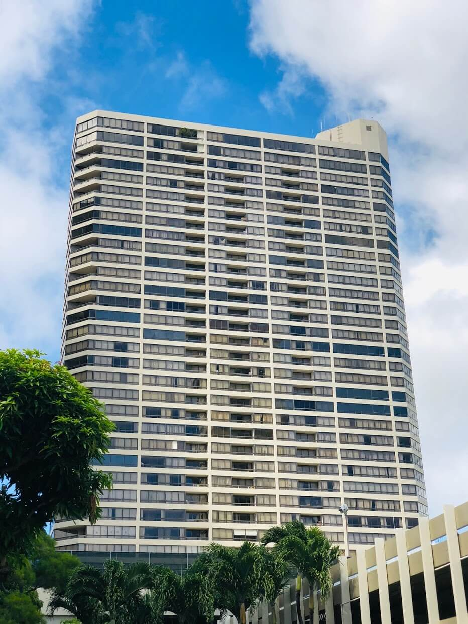 Iolani Court Plazaの外観