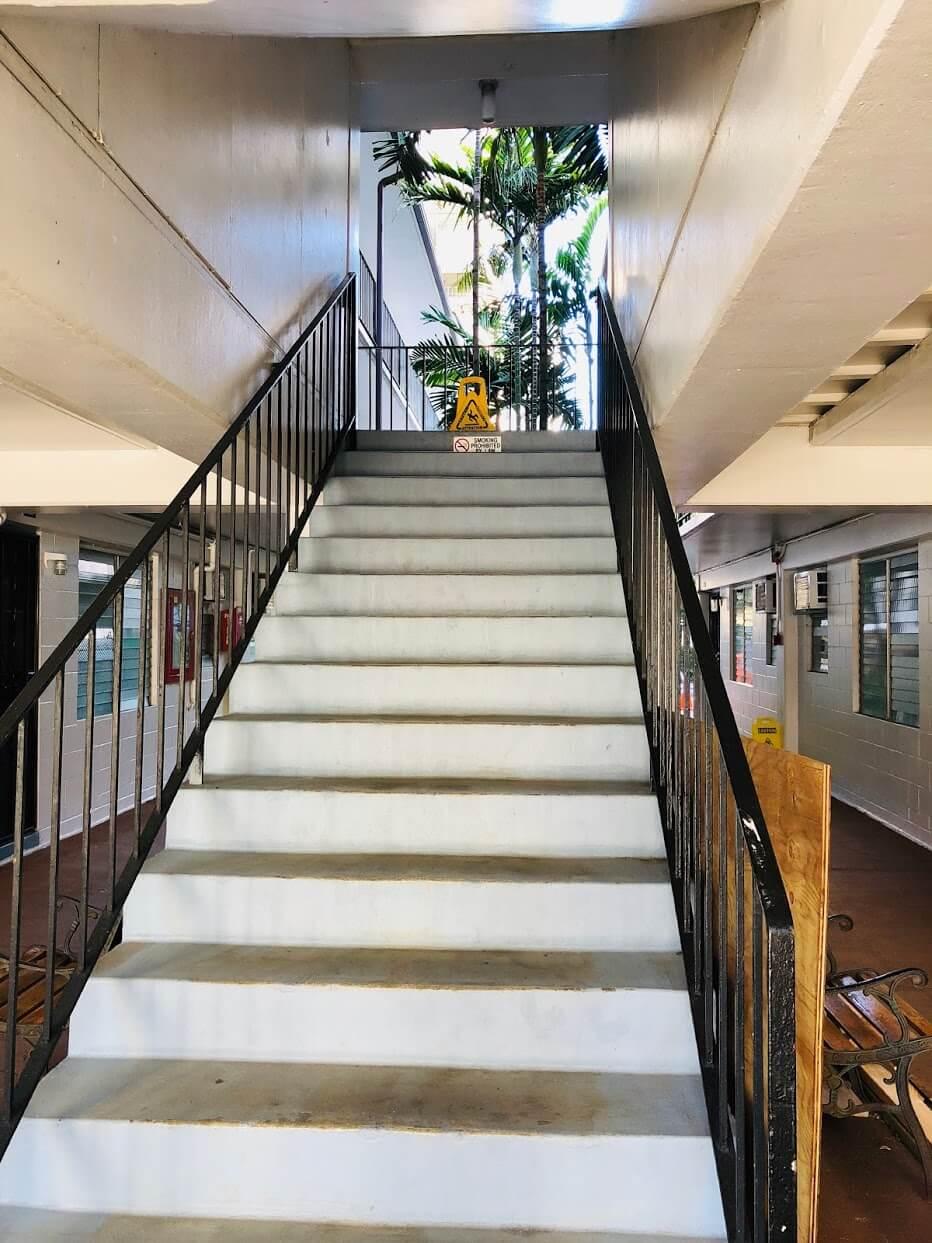 KON TIKIの階段