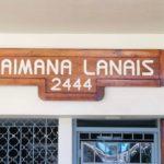 Kaimana Lanaisの看板