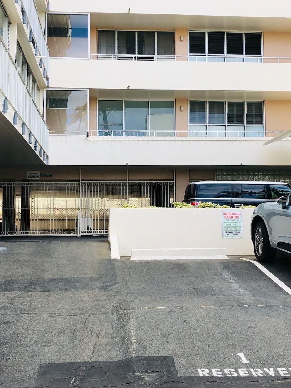 Kainaluの駐車場