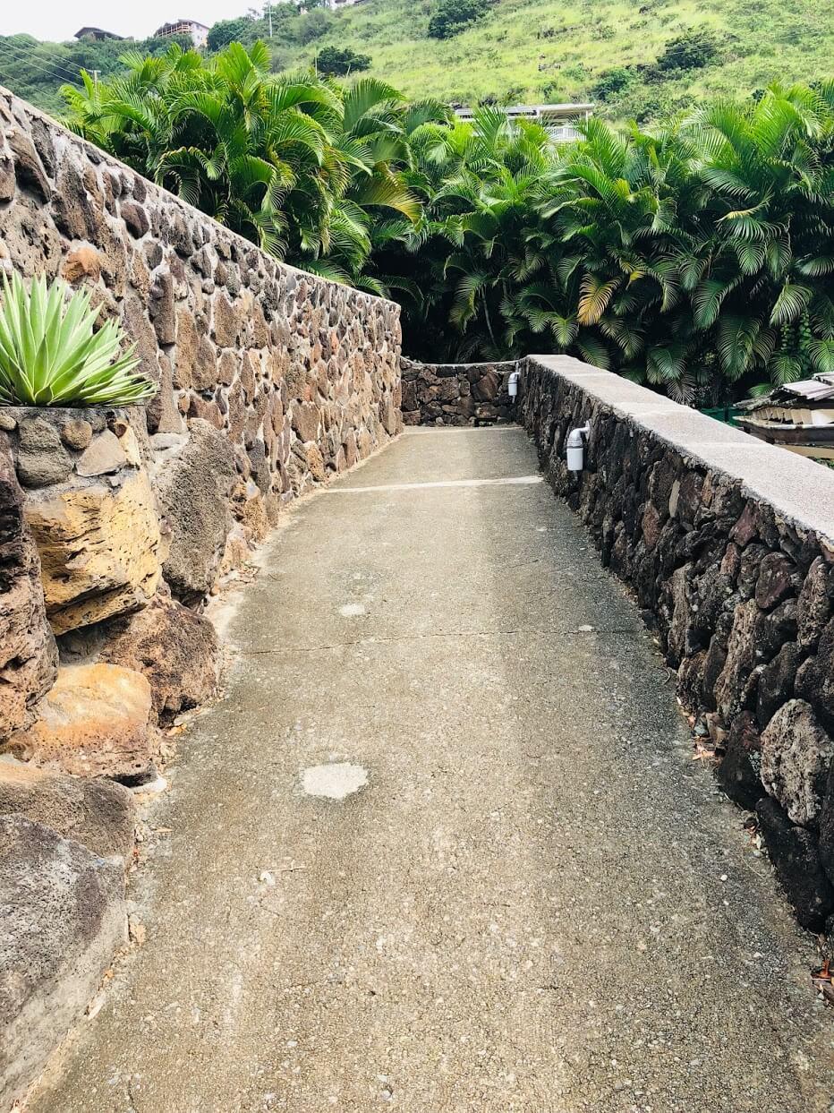 Kalani Iki Estatesのスロープ