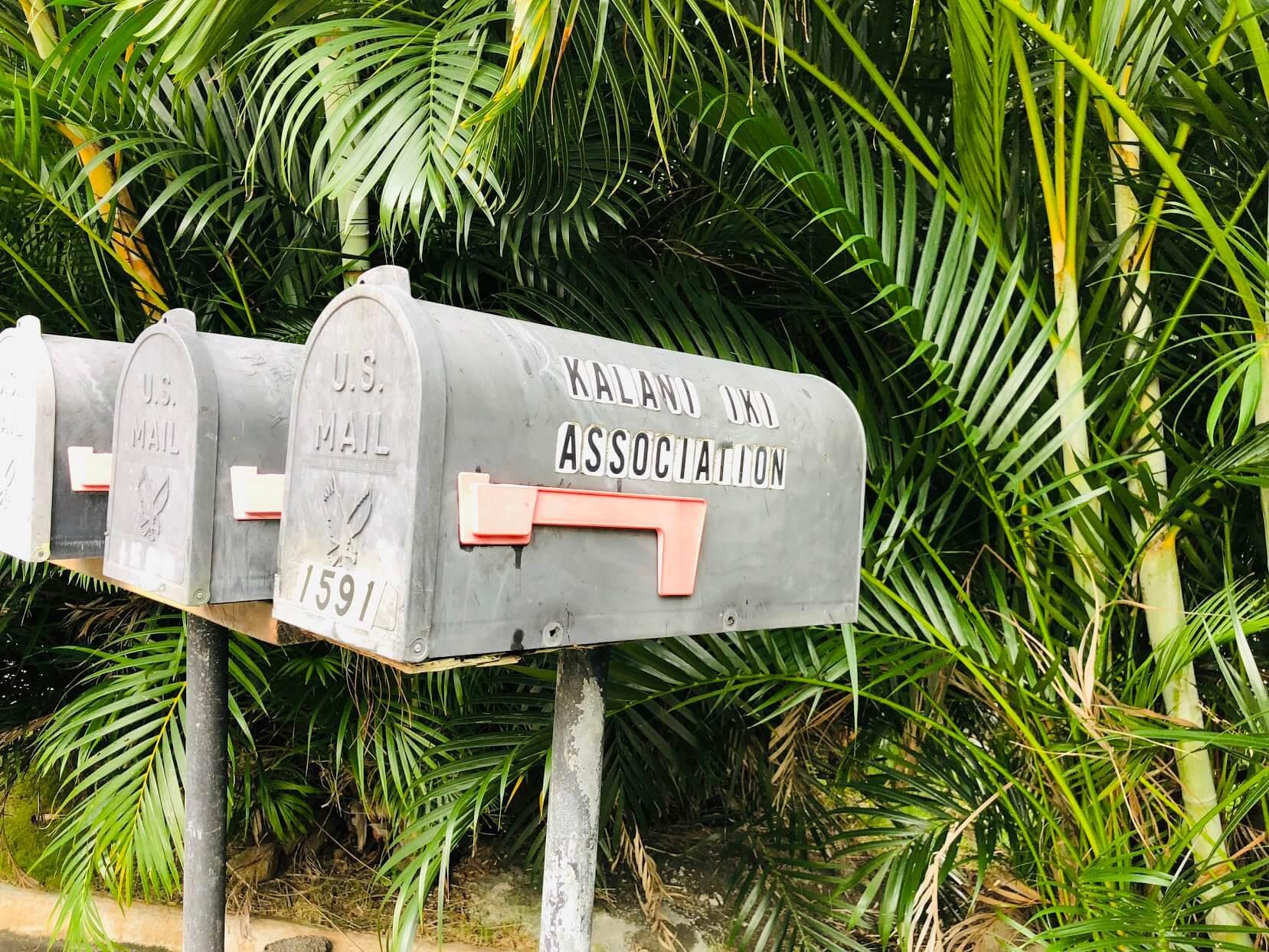 Kalani Iki Estatesのポスト