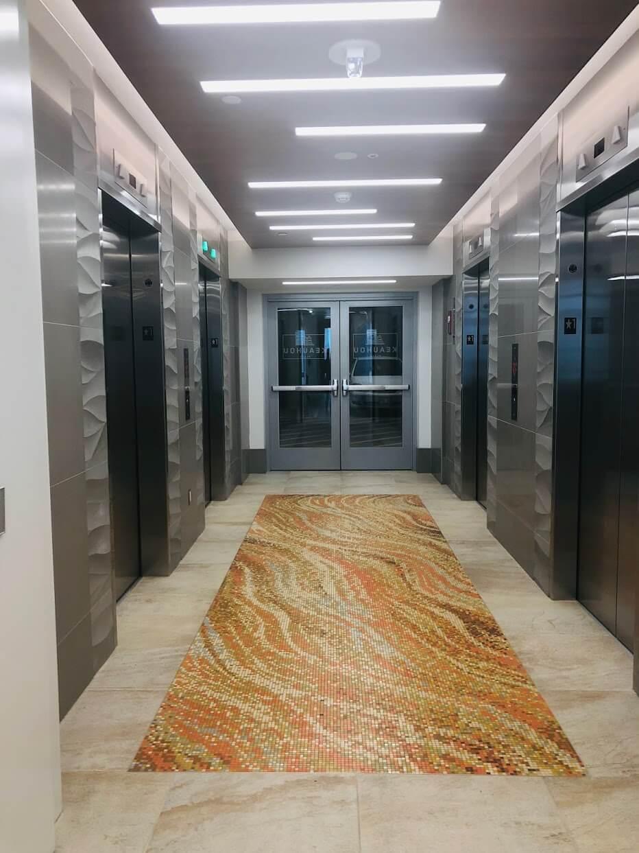Keahou Placeのエレベーター