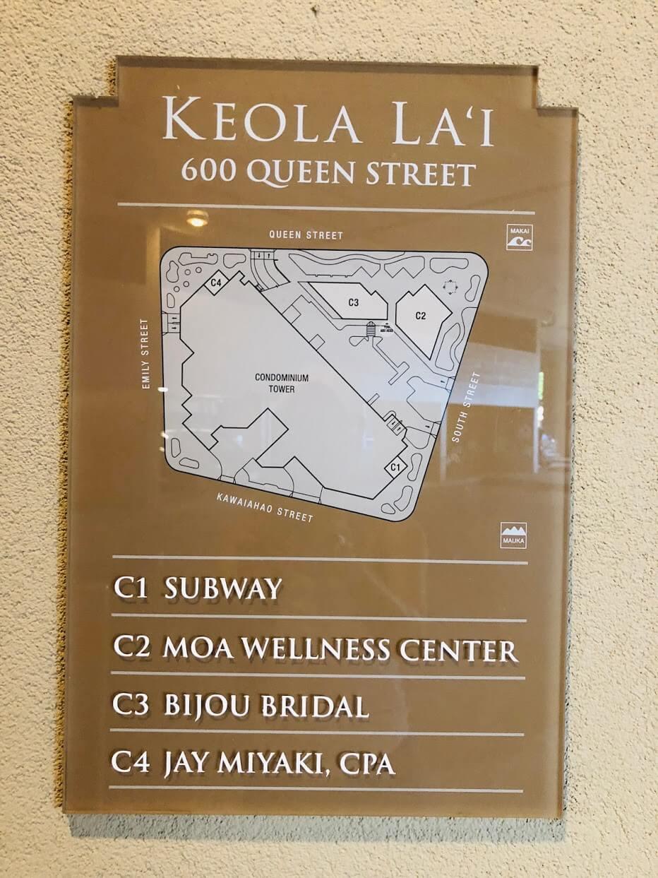 Keola Laiの案内図