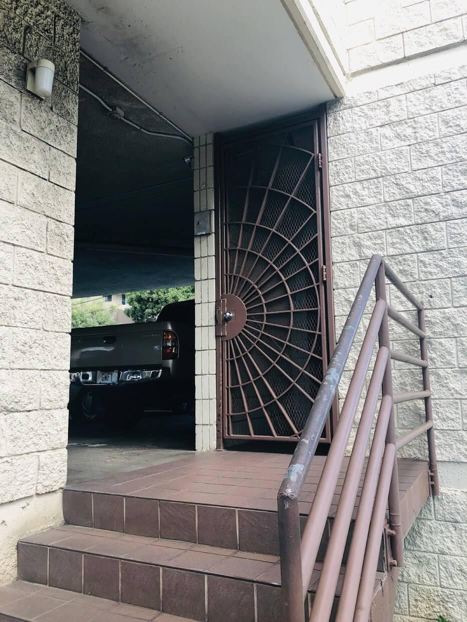 Kinau Villaの駐車場