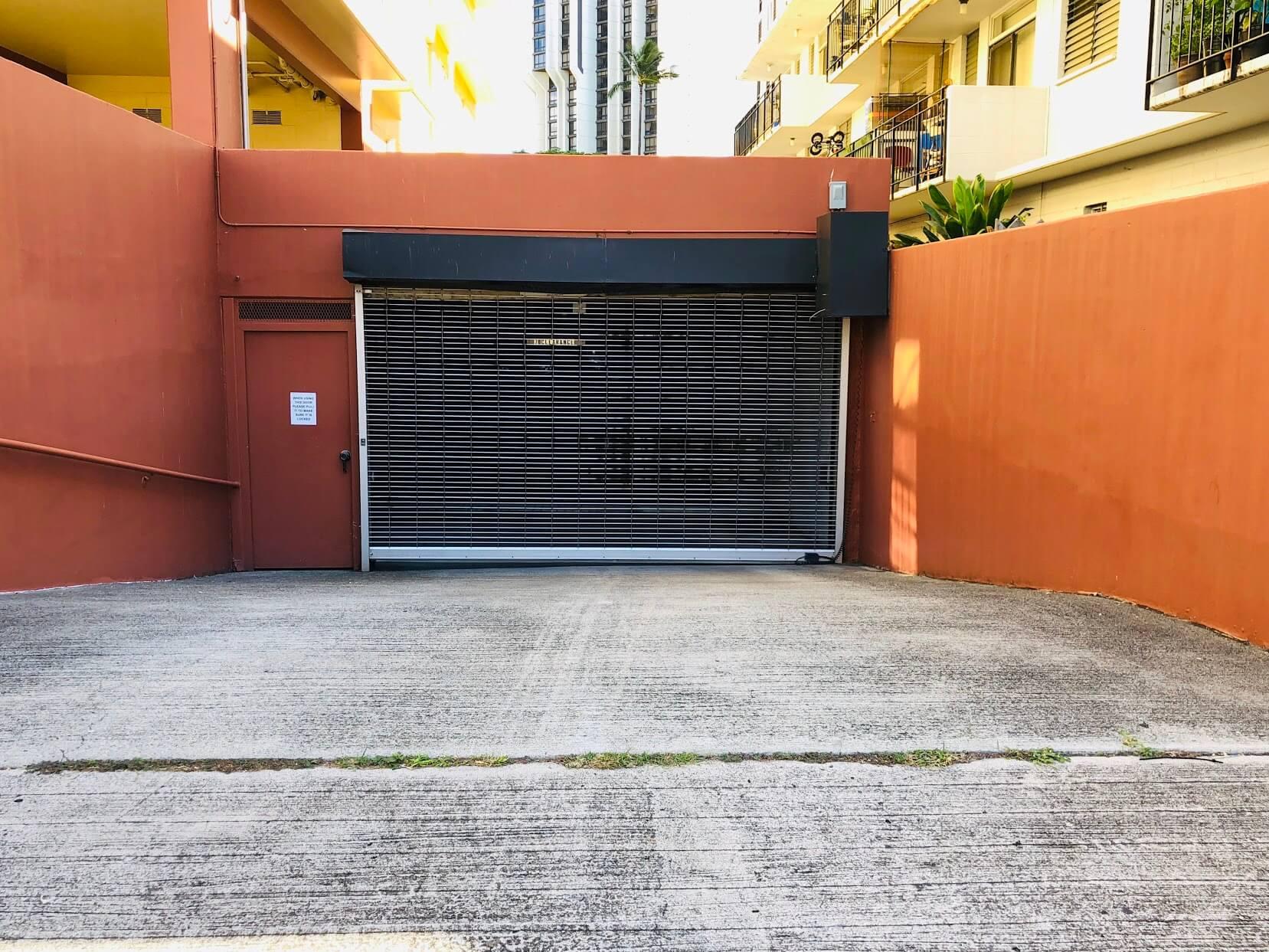 King Kalaniの駐車場