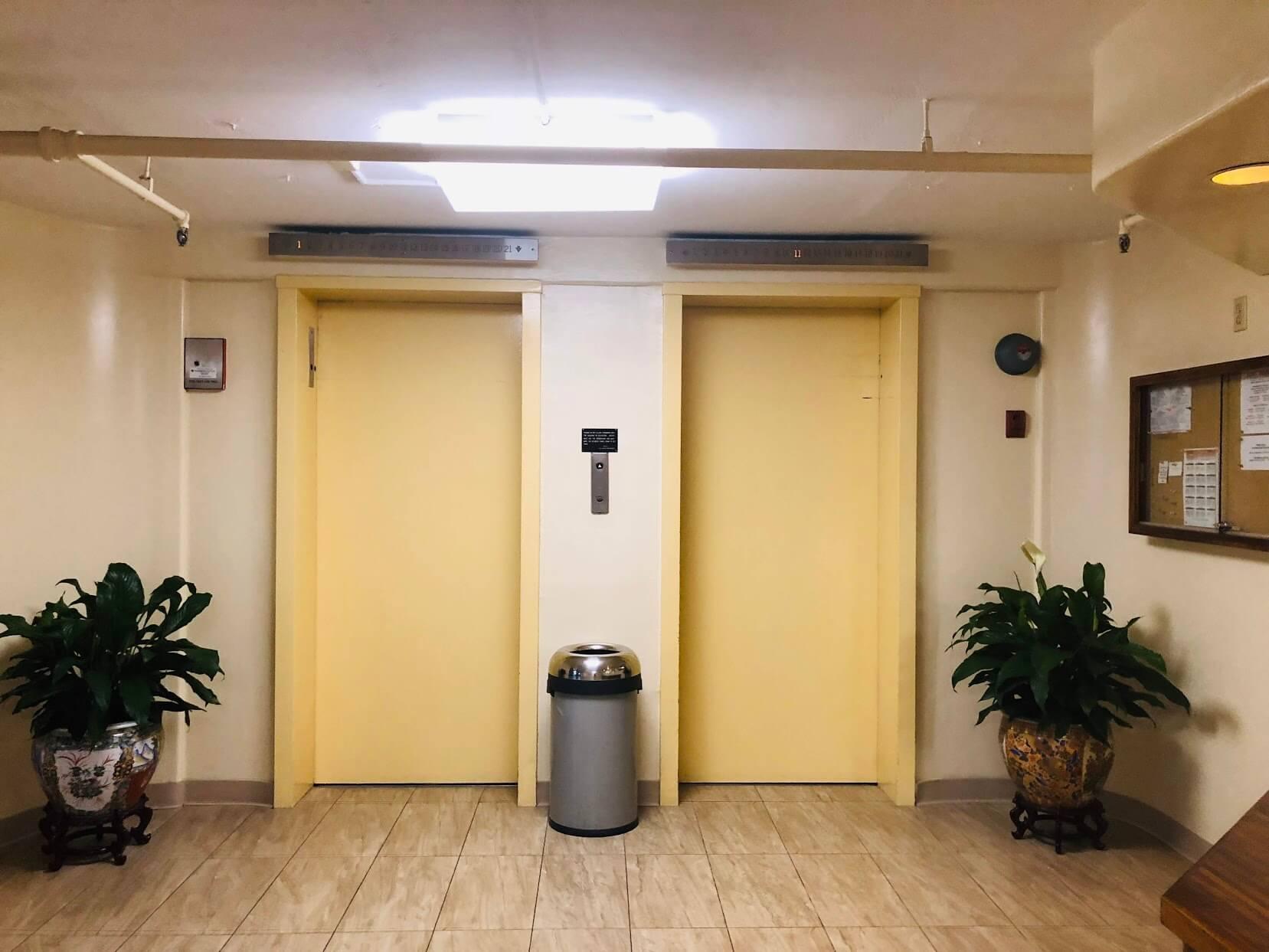 King Manorのエレベーター