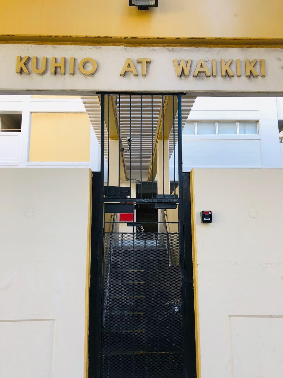 Kuhio At Waikikiのエントランス