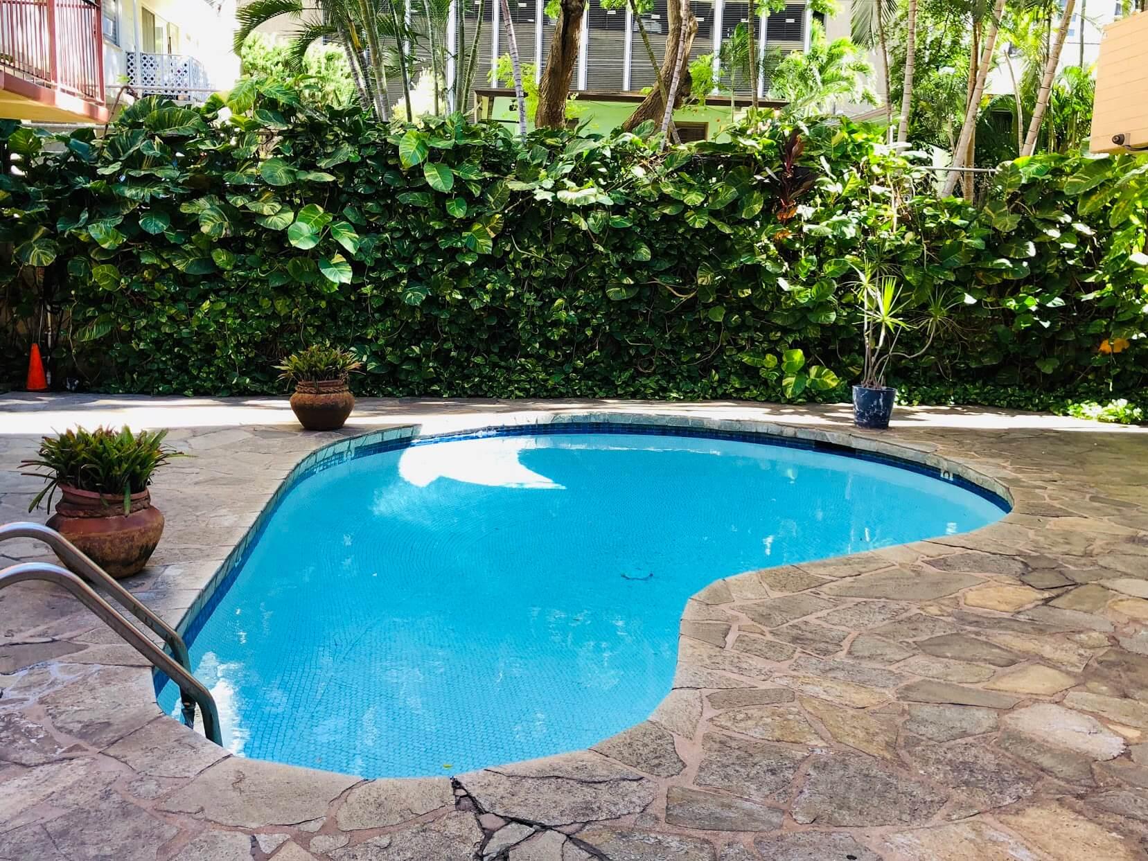 Kuhio Ebbtideのプール