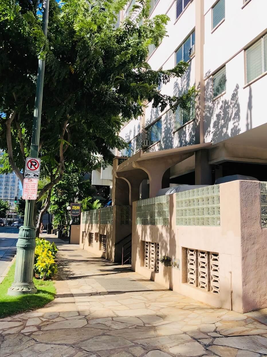 Kuhio Plazaの外観