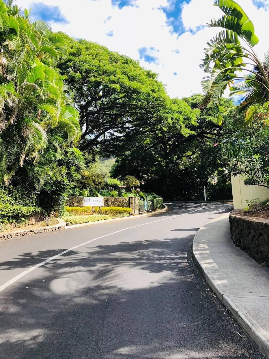 La Pietraの道路