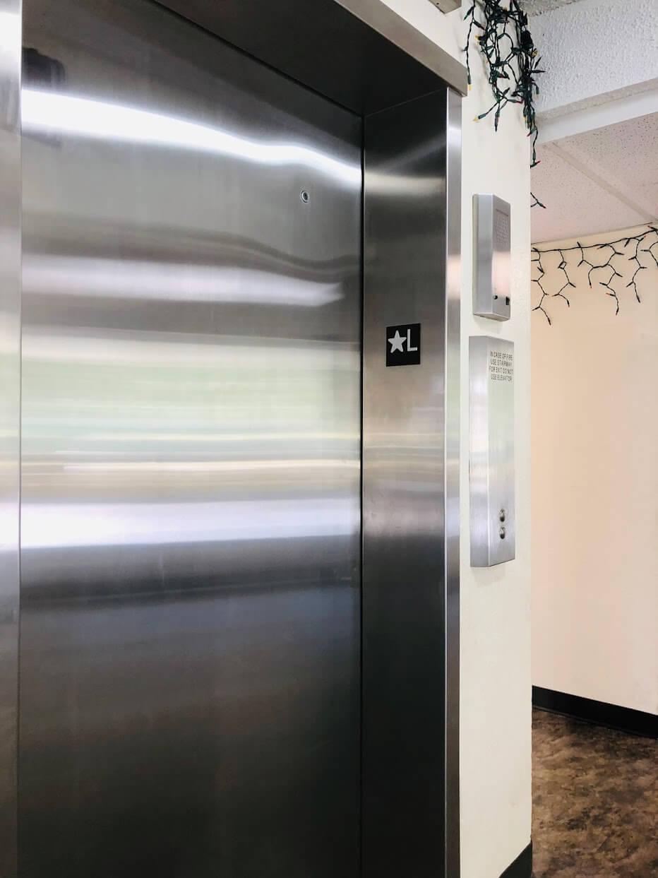 Liliuokalani Plazaのエレベーター
