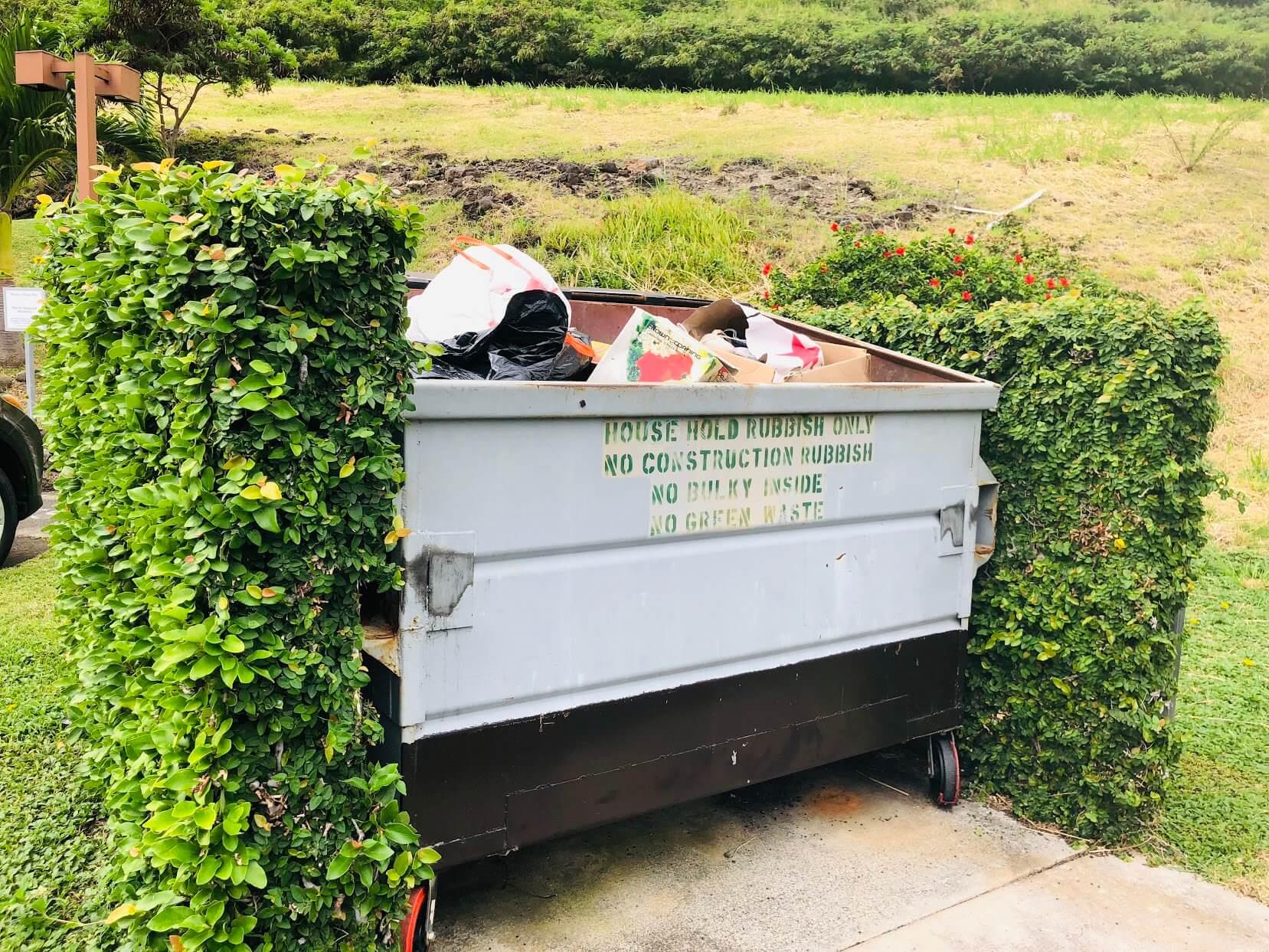Mariners Villageのゴミ箱