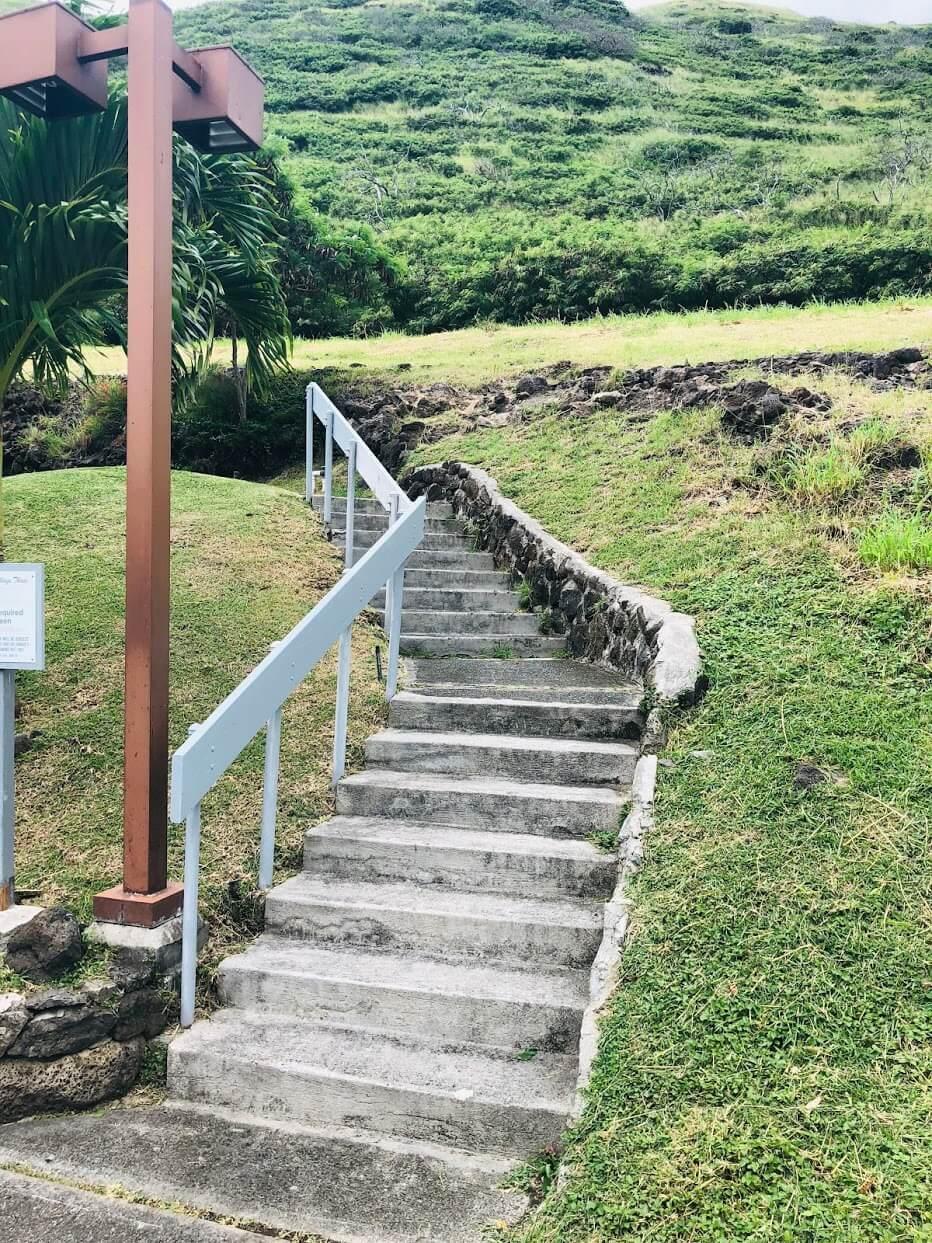 Mariners Villageの階段
