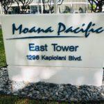 Moana Pacificの看板