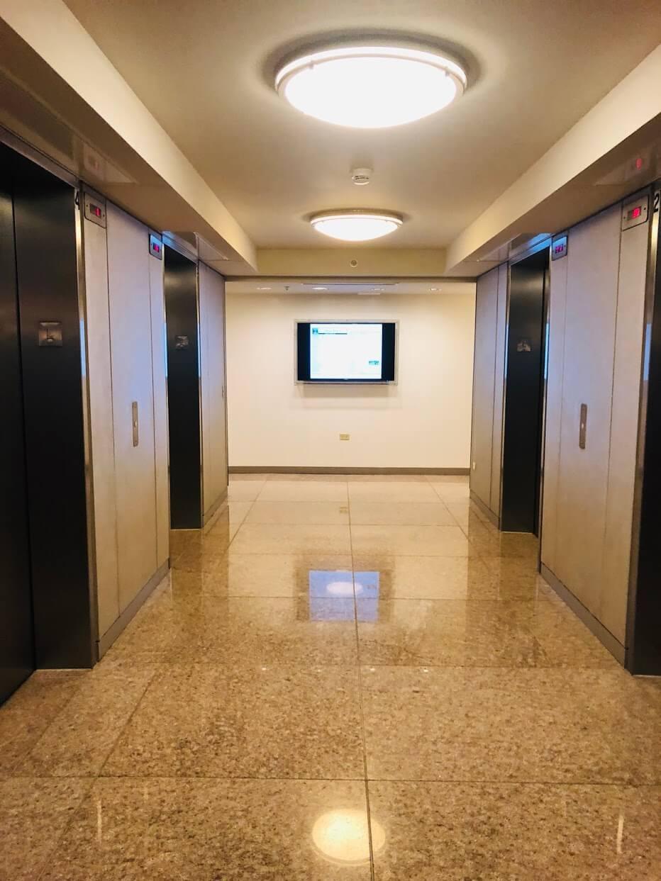 Moana Pacificのエレベーター
