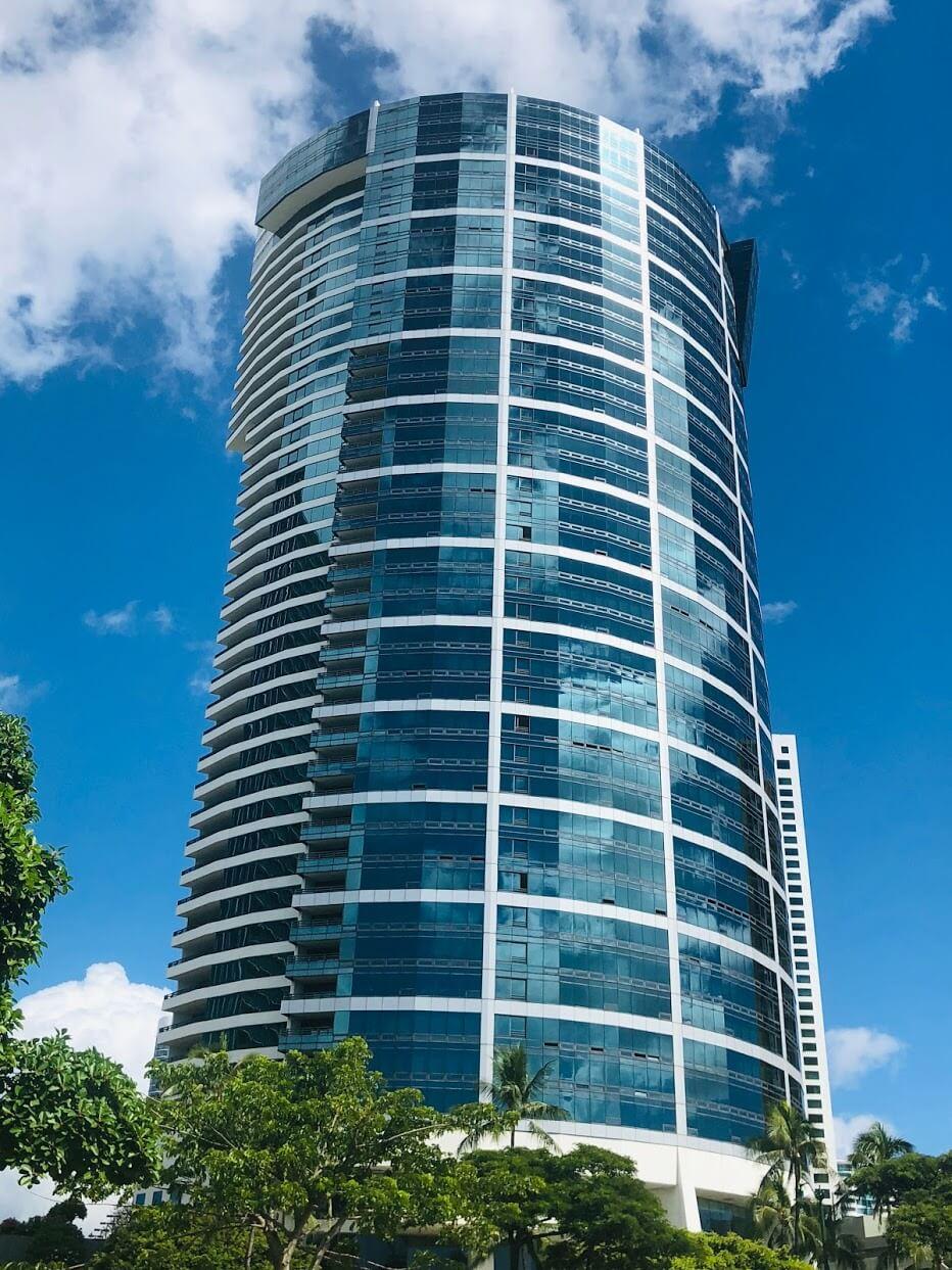 Nauru Towerの外観