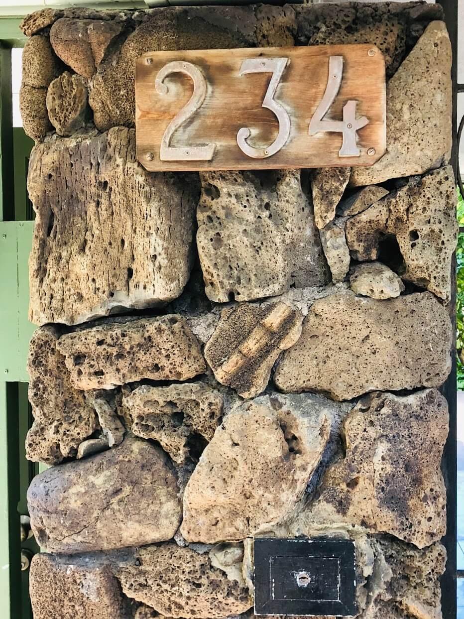 Ohua Gardensの看板