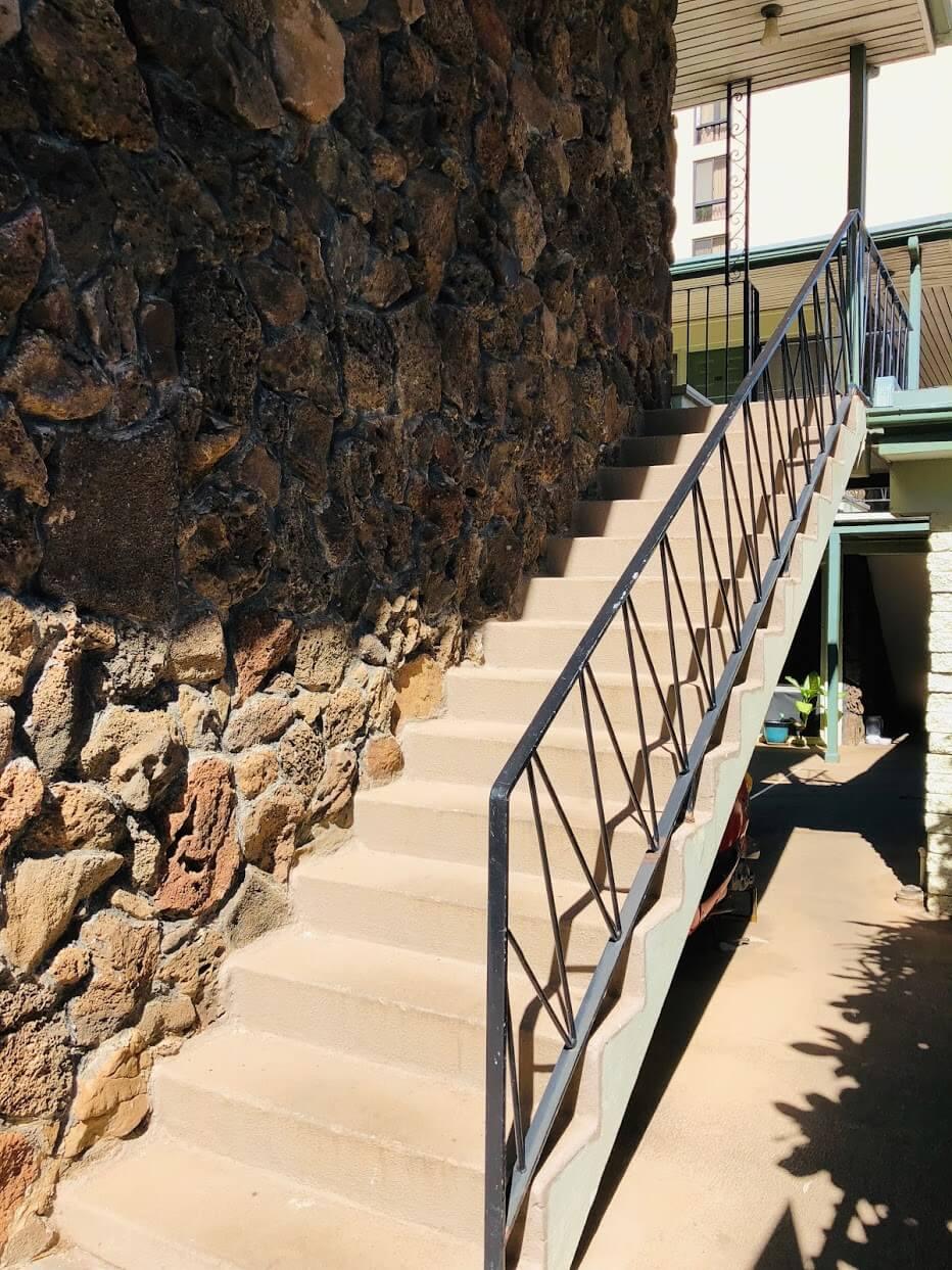 Ohua Gardensの階段
