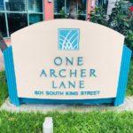 One Archer Laneの看板