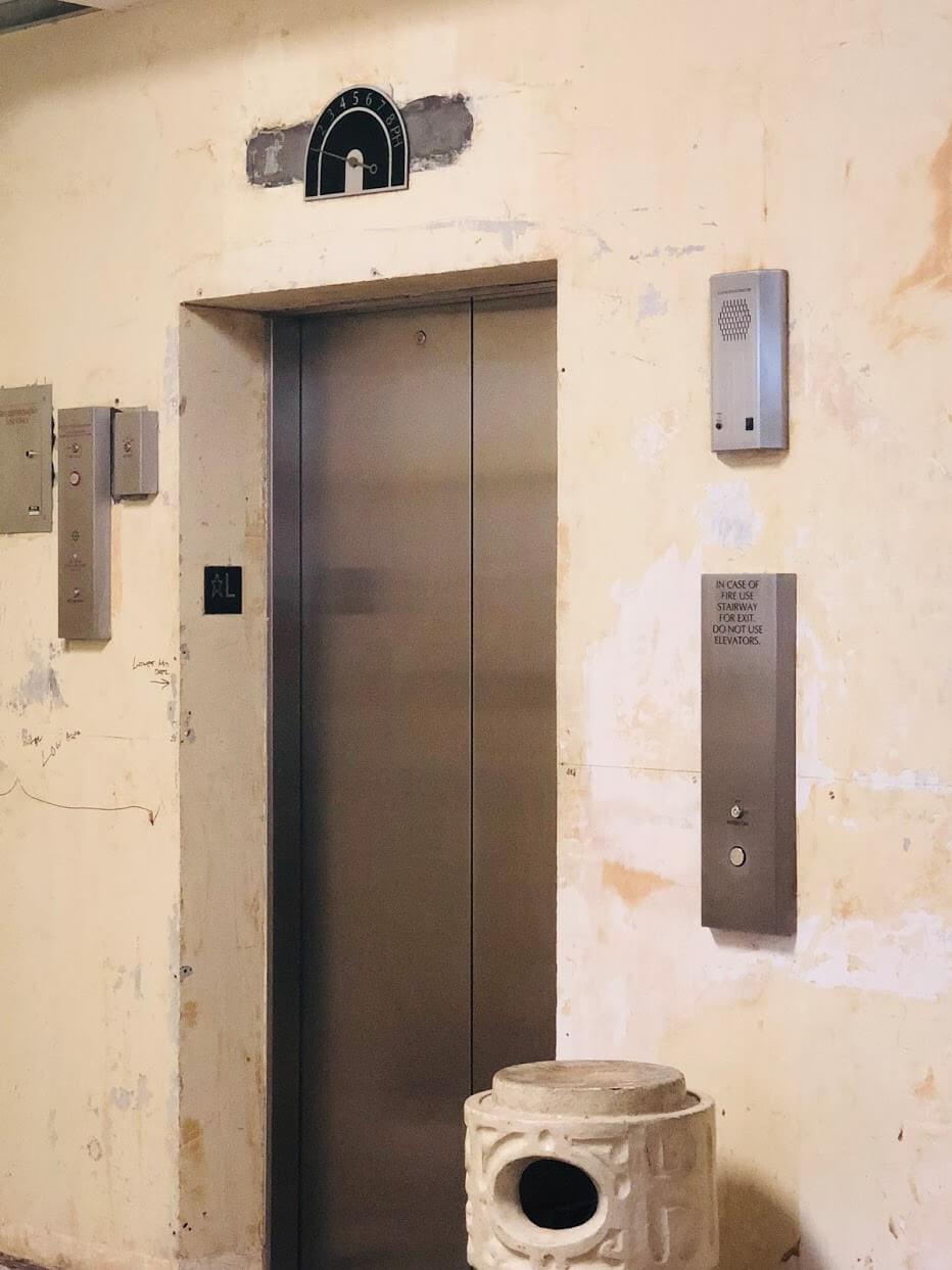 Pacific-Manorのエレベーター