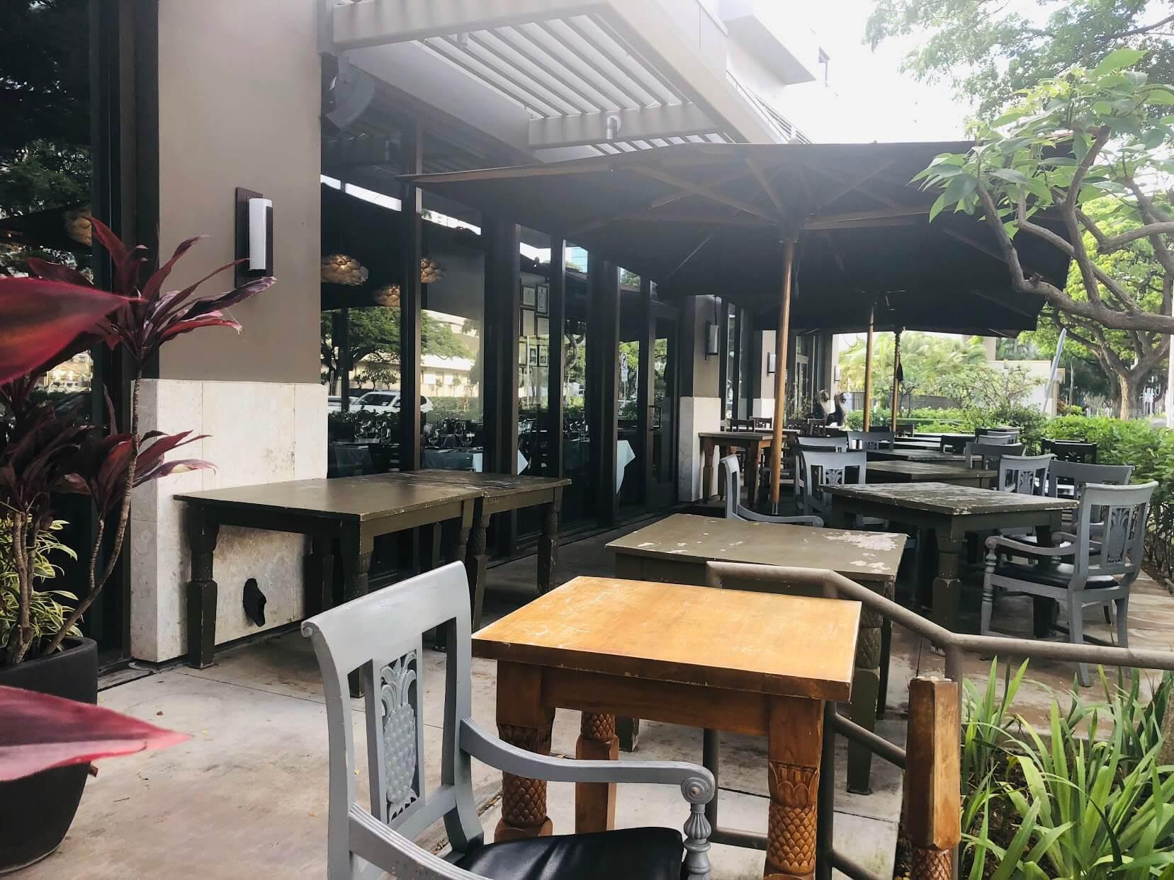 Pacifica Honoluluの店