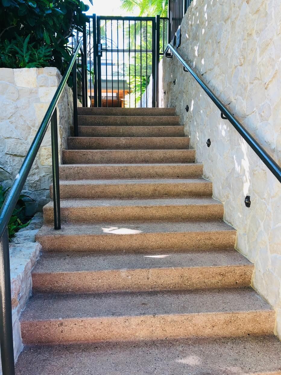 Lane Ala Moanaの階段
