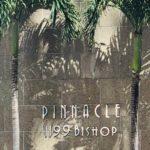 Pinnacle Honoluluの看板