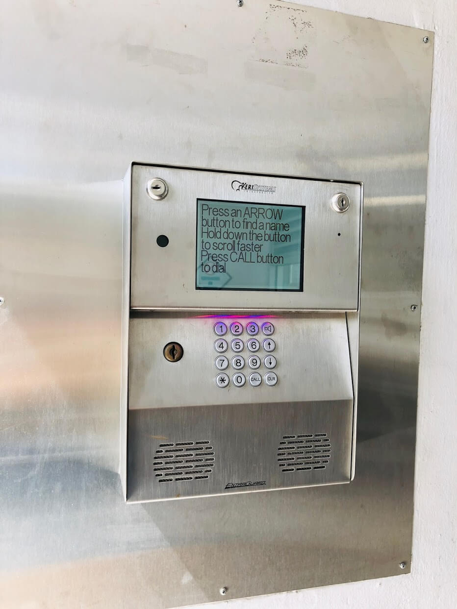 Plaza at Century Courtのインターホン