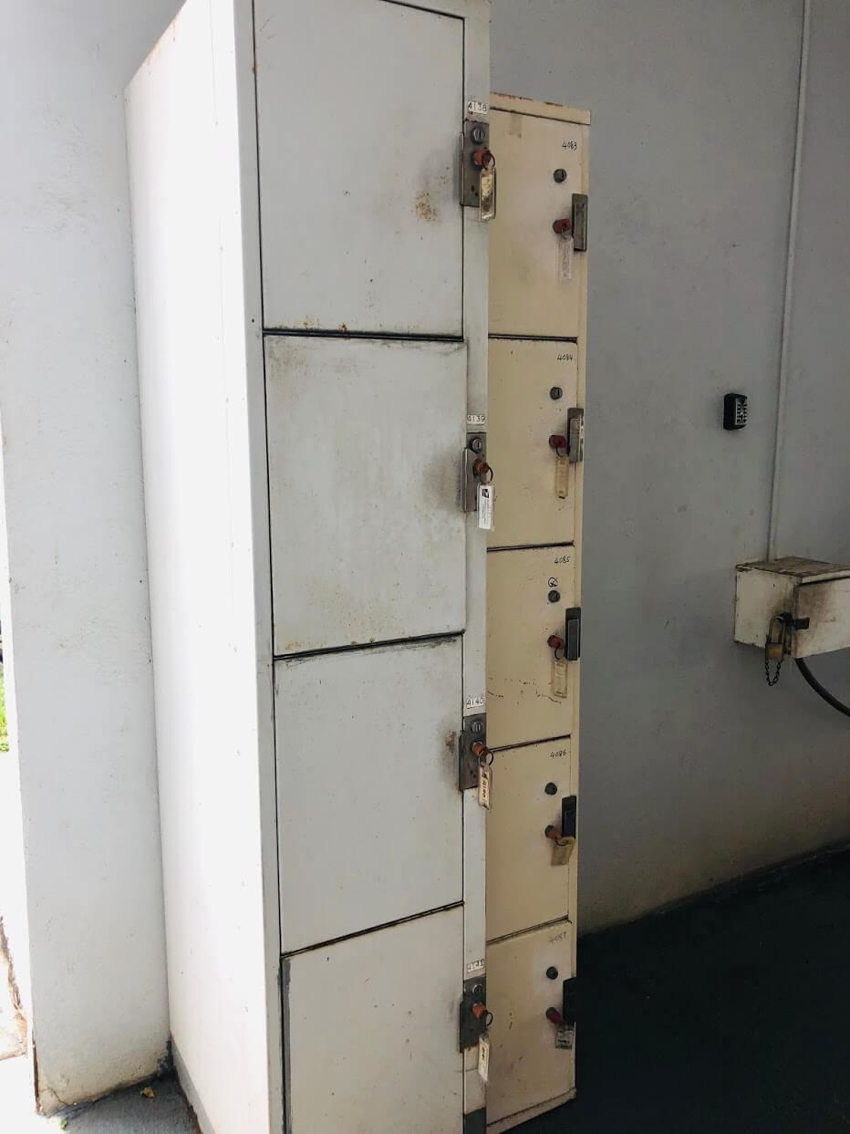 Pua Leahi Apartmentのロッカー