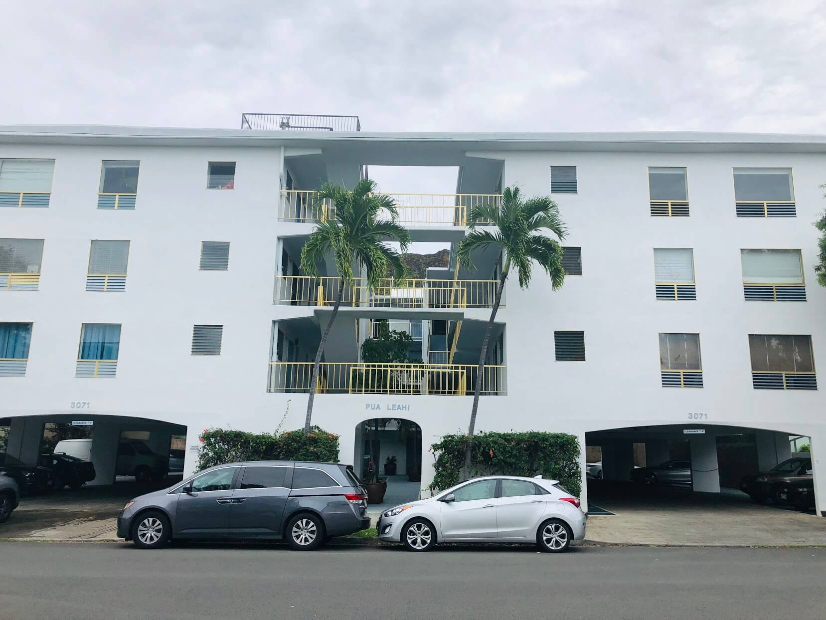 Pua Leahi Apartmentの外観