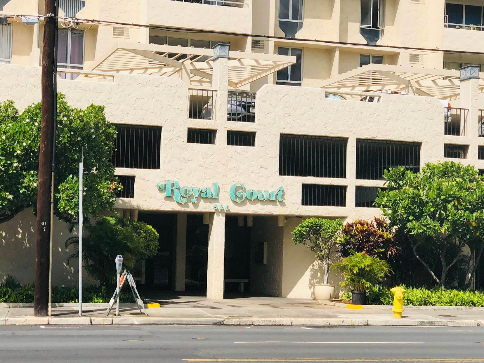 Royal Courtのエントランス