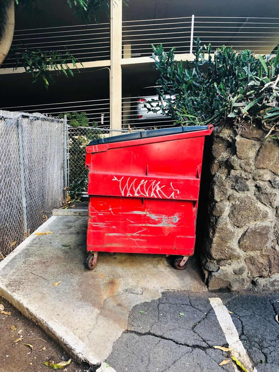 The Promenadeのゴミ箱