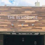 The Residence at Makikiの看板