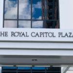 The Royal Capitol Plazaの看板
