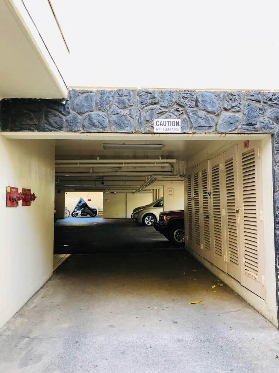 The Seashoreの駐車場