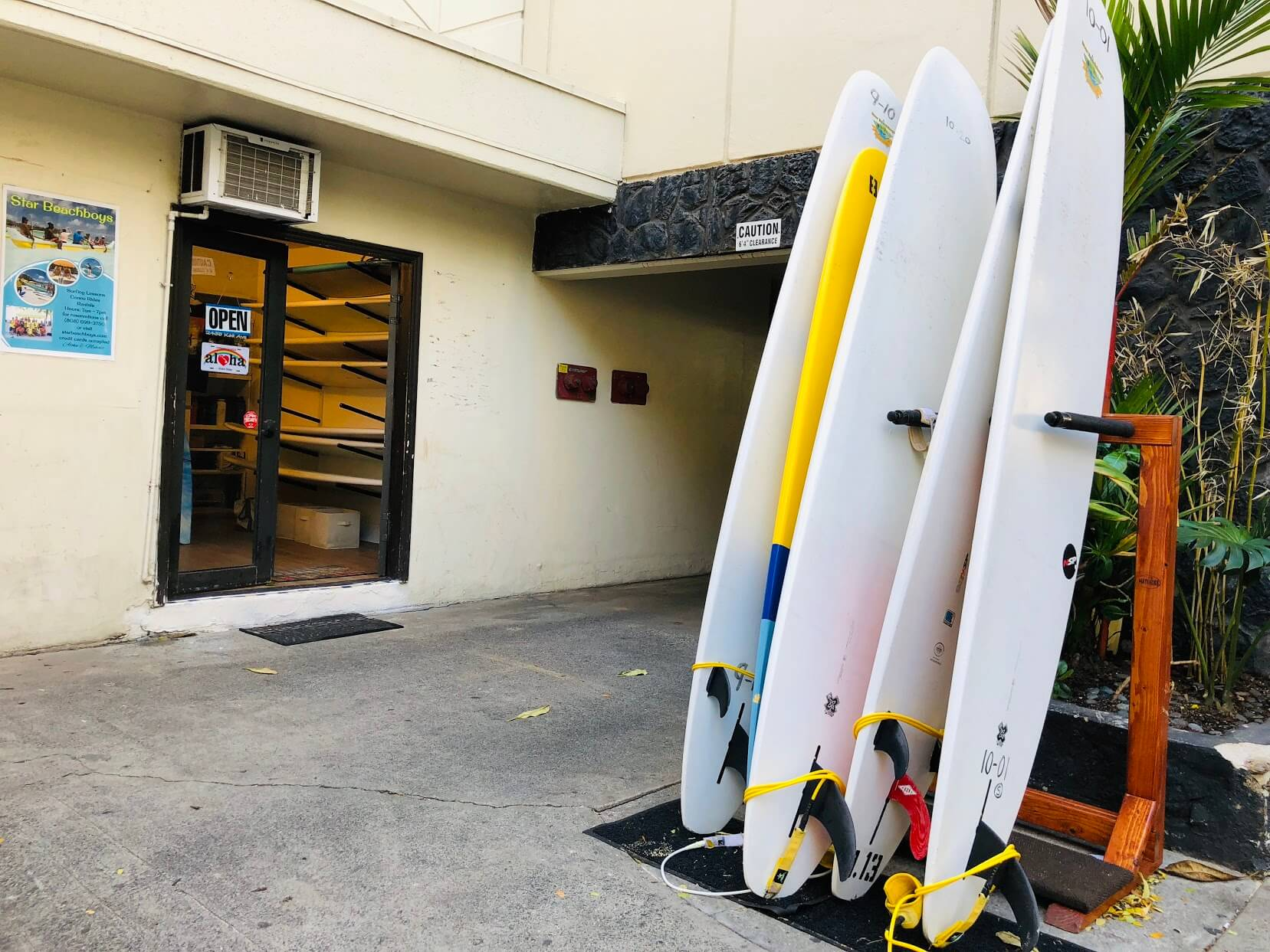 The Seashoreのサーフボード