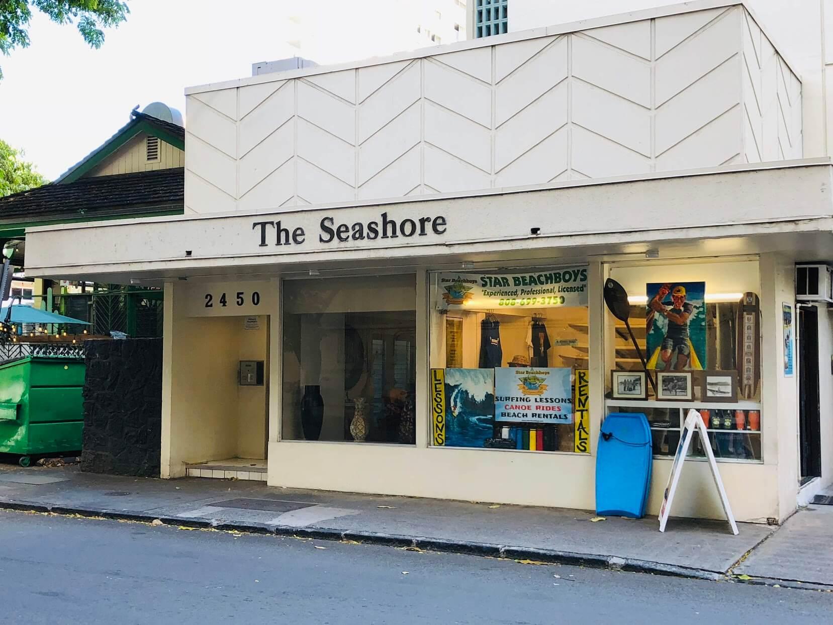 The Seashoreの外観