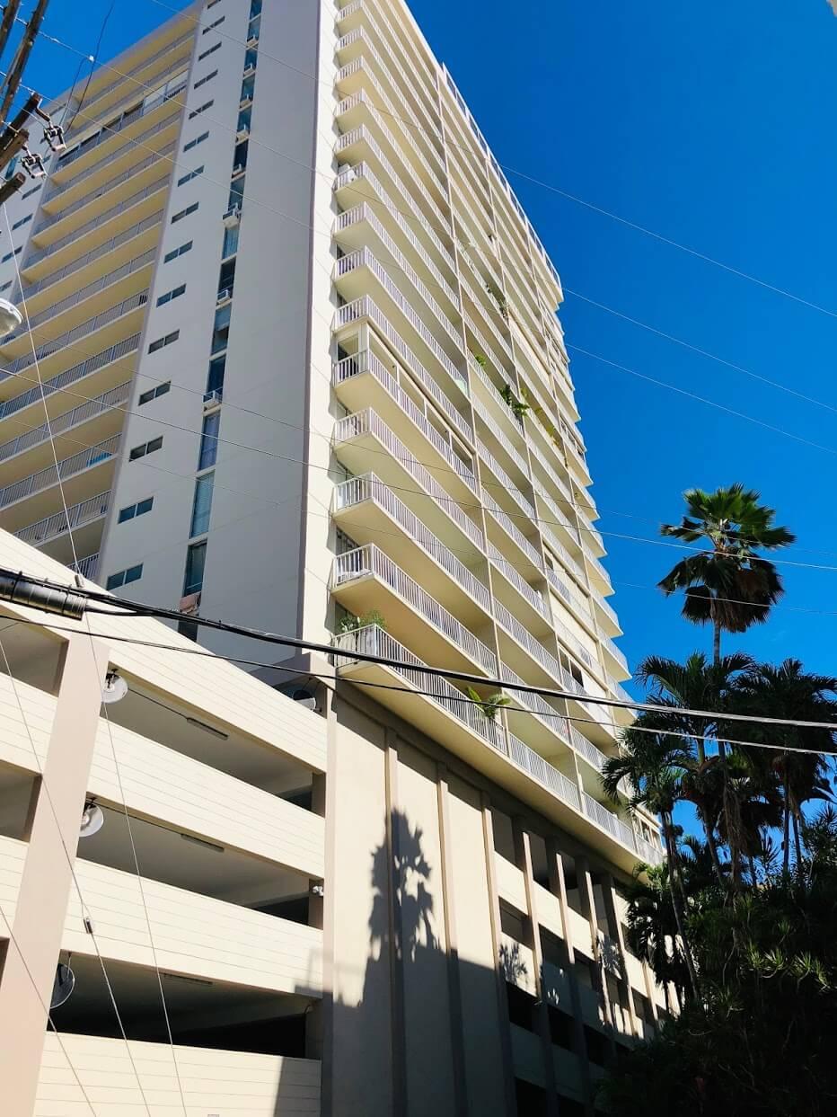 Waikiki Lanaisの外観