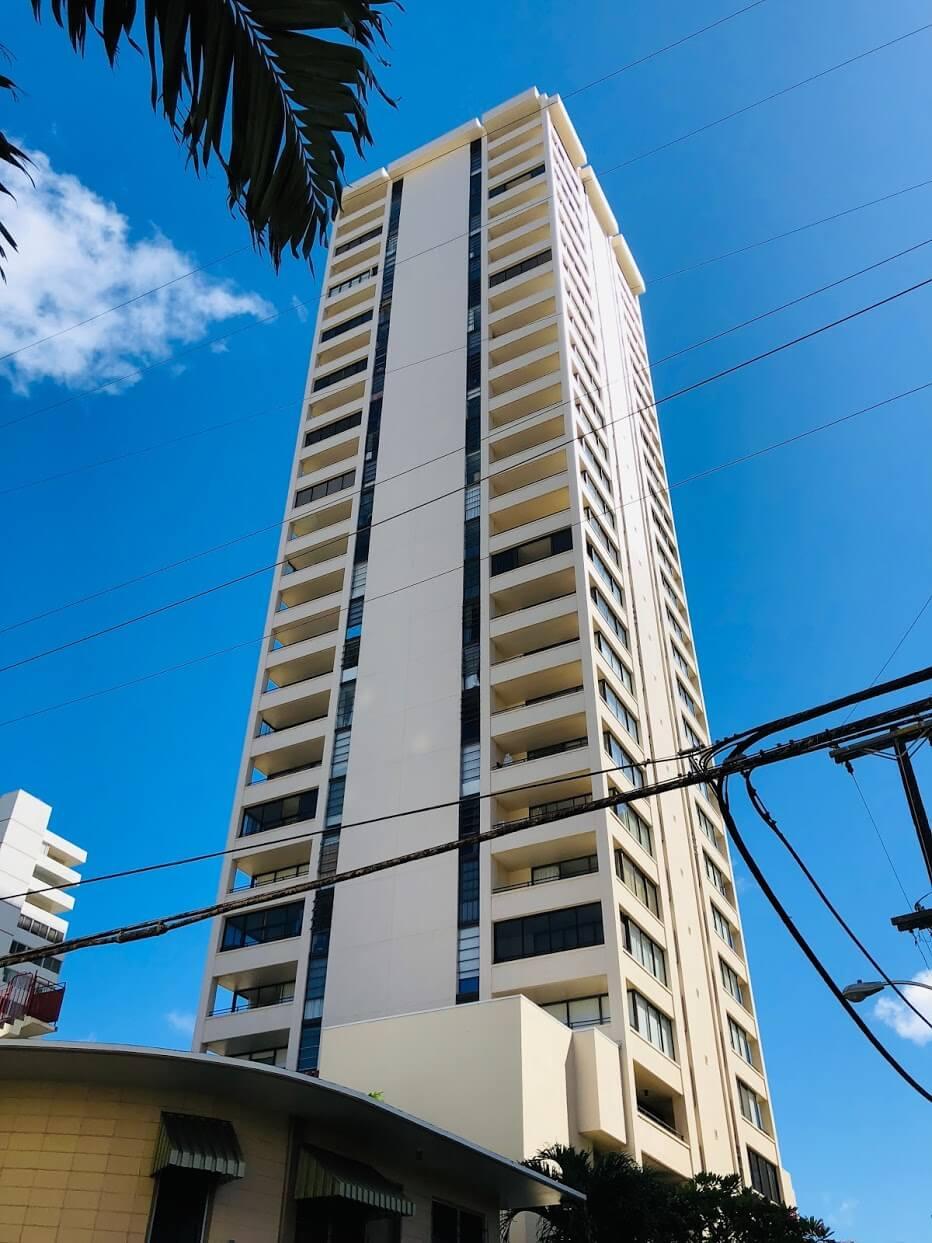 Waikiki Sky Towerの外観