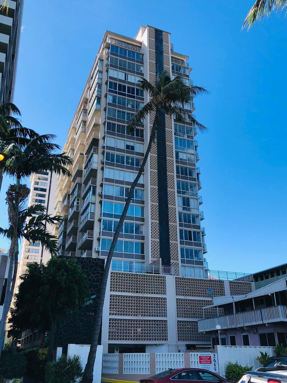 Waikiki Skylinerの外観