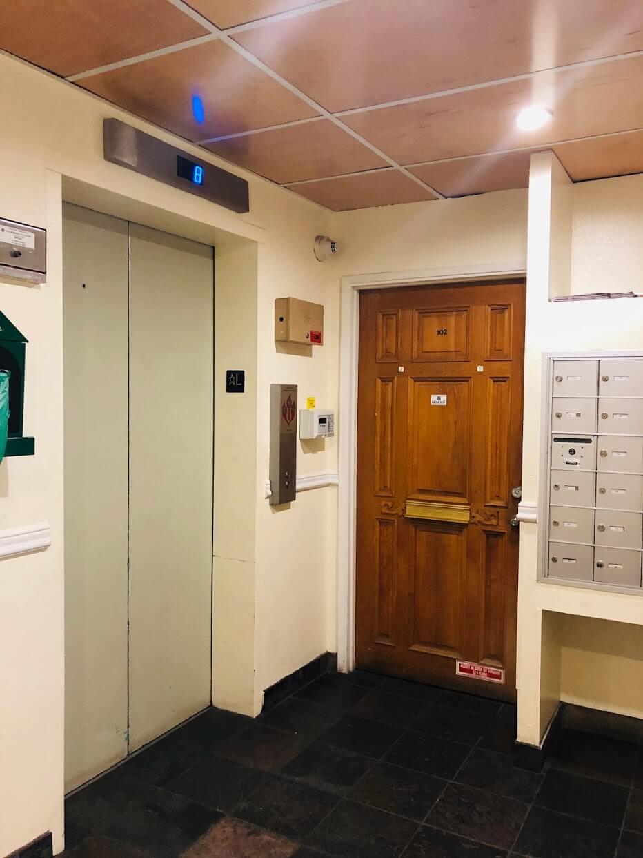 Walina Apartmentsのエレベーター