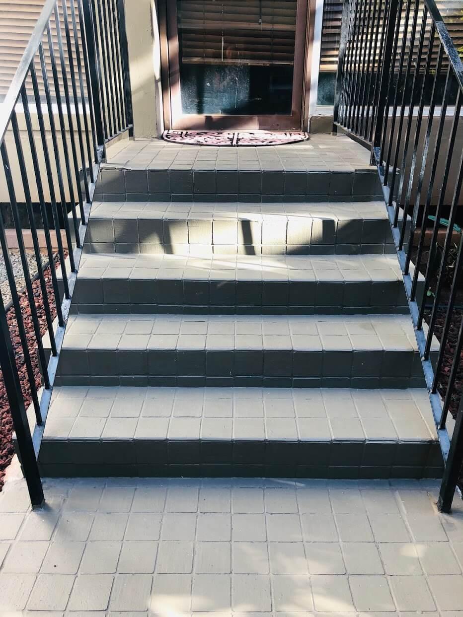 Walina Apartmentsの階段
