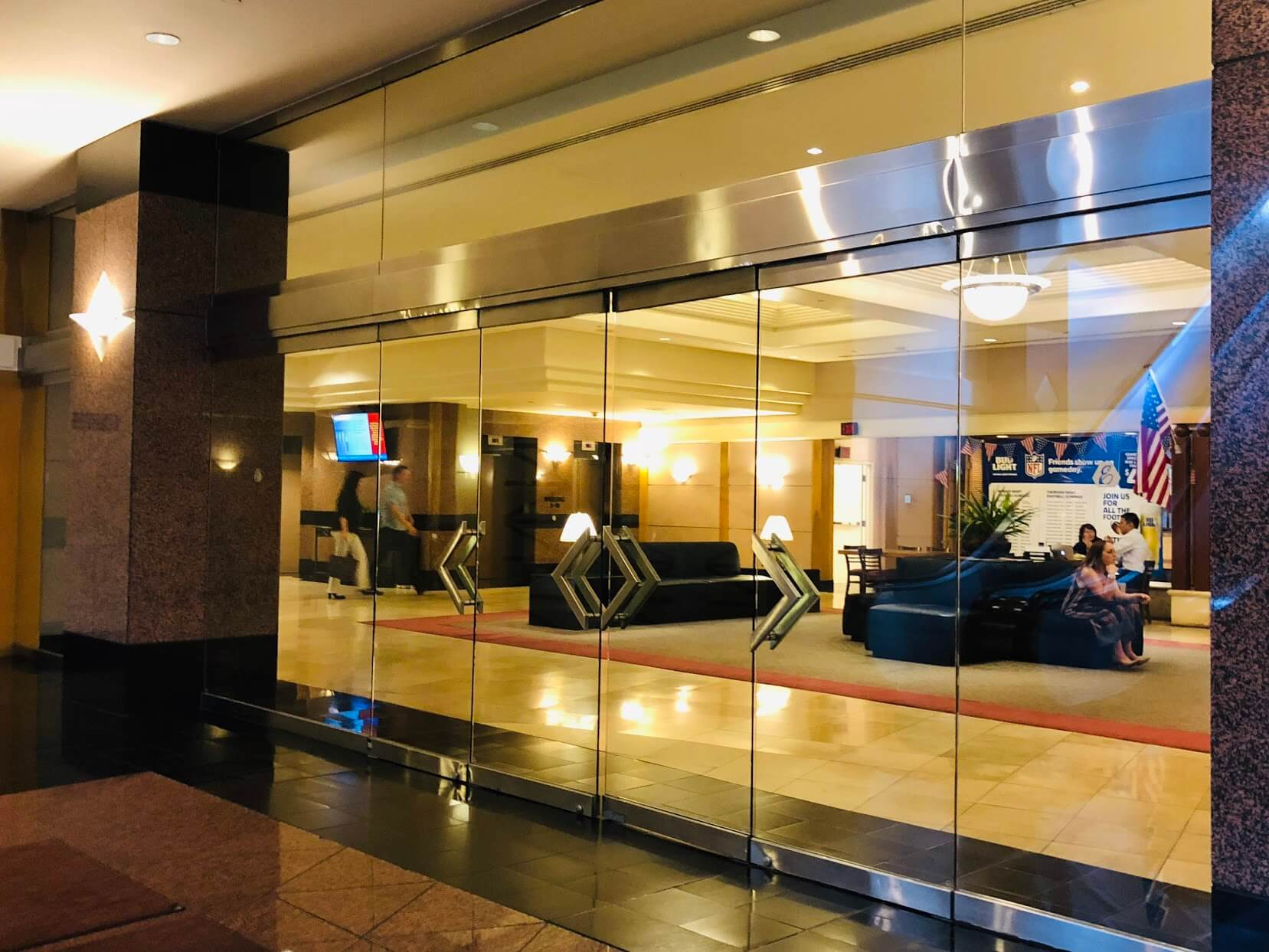 the Executive Centre Hotelのロビー