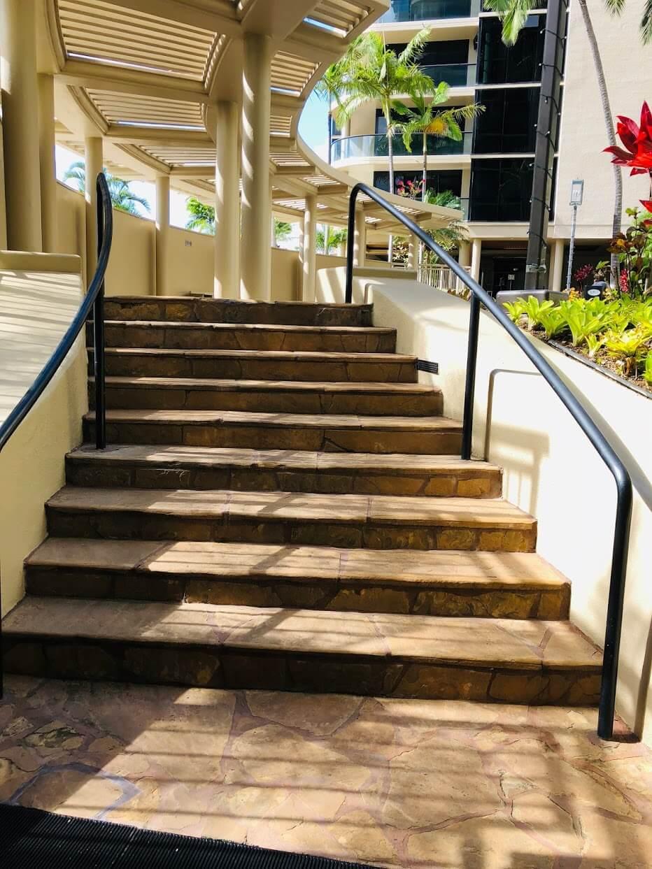 1015 Wilderの階段