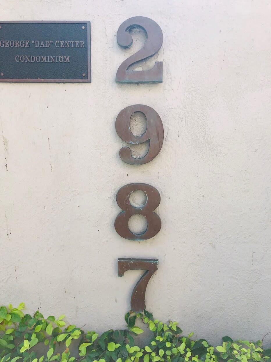 2987 Kalakauaの看板