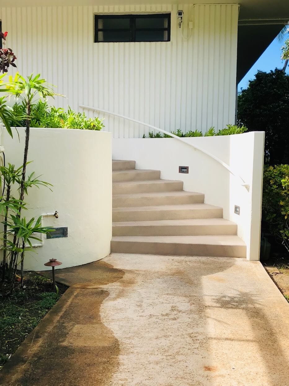 3003 Kalakauaの階段