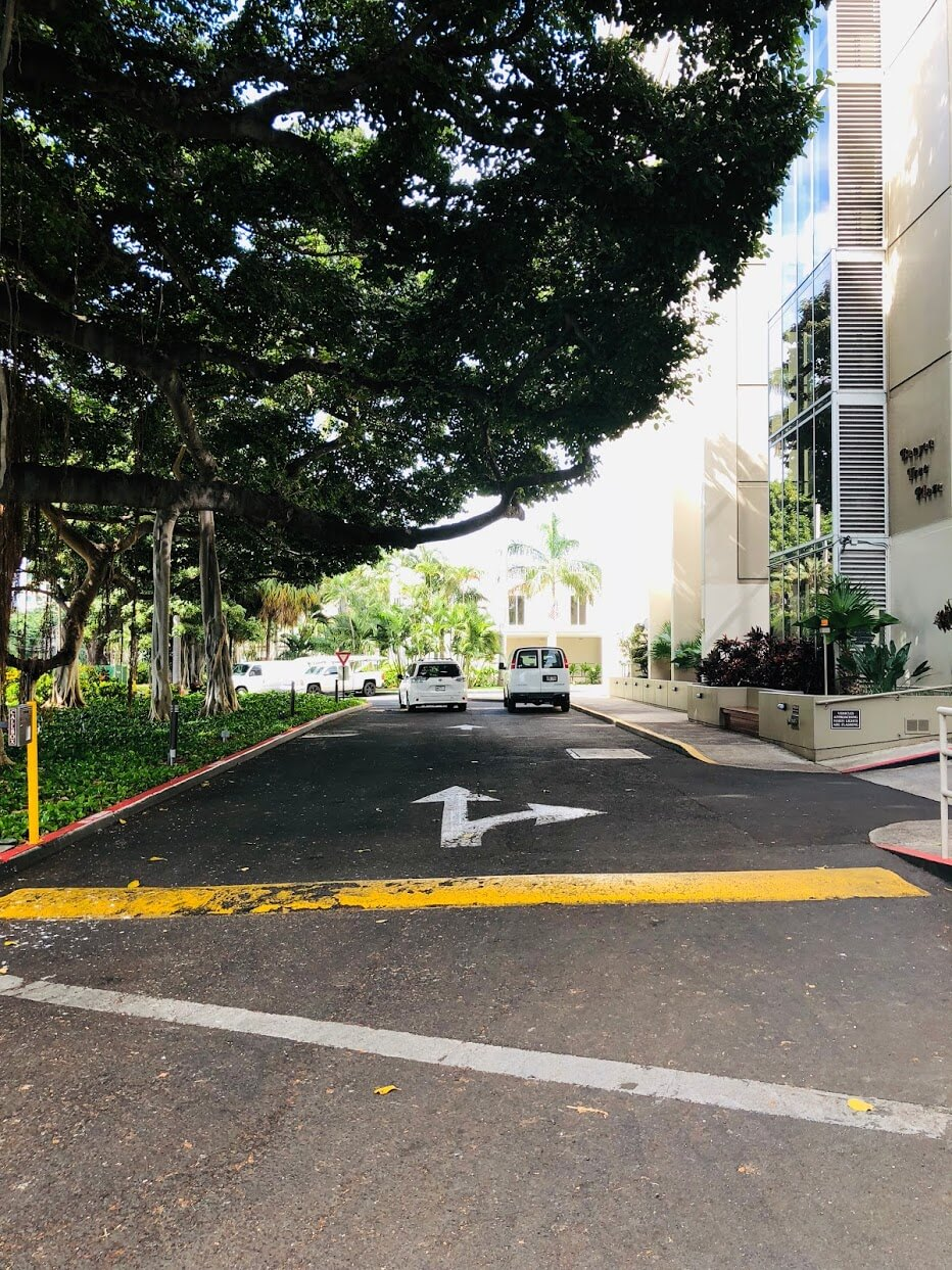 Banyan Tree Plaza 1212の道路